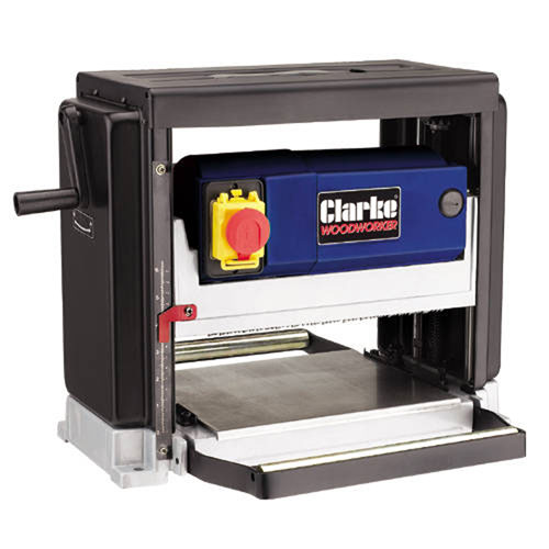 Clarke CPT250 Portable Thicknesser Accepts Timber upto 250mm wide x 125mm thick