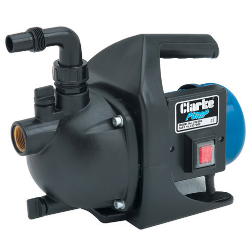 Clarke SPE800 1 inch Self Priming Pump 53 l/min Max head 40m 800W, 230V