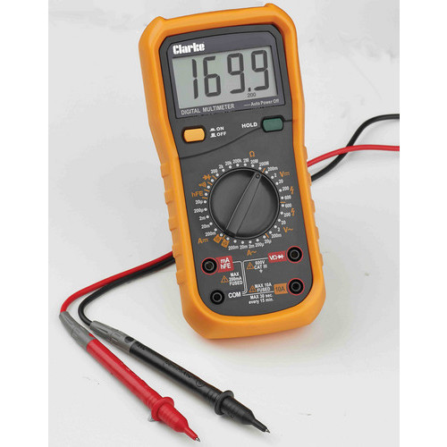 Clarke CDM35C 8 Function Digital Multimeter for electrical/mechanical engineers
