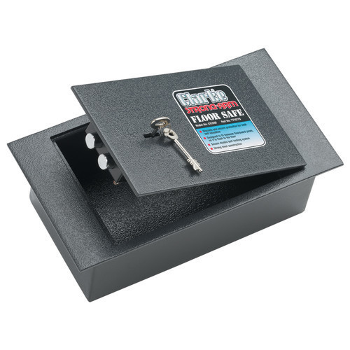 Clarke CS150F Floor Safe Secure Double Locking Bolts 4.4 litres recessed door