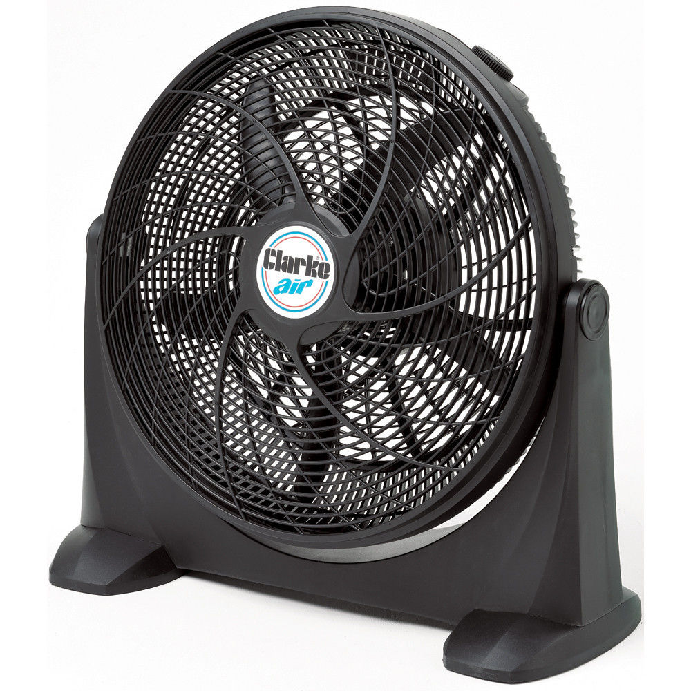 "Clarke CBF20 20"" Box Fan 120W, 230V Motor 3 speed Vertical Tilting Adjustment"