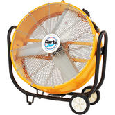 Clarke CAM110 30? Drum/Barrel Fan 110V 350W 3 speed Fan tilts 300° Weight 28.5kg