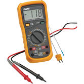 Clarke CDM45C 11 Function Digital Multimeter Temperature Probe, Data Hold button
