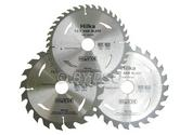 Hilka 3 pce TCT Circular Saw Blades 190mm with 30mm Bore and Adapter Rings