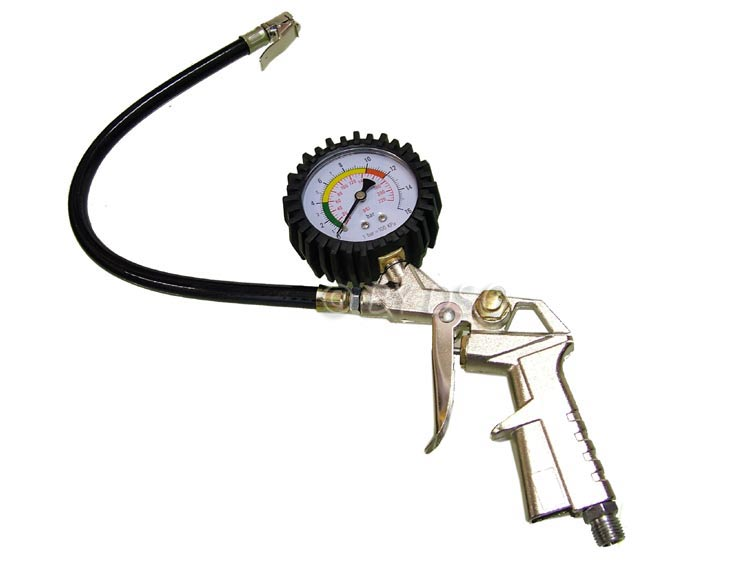 Hilka Tyre Inflator and Dial Gauge for Car Motorbike HIL85410001
