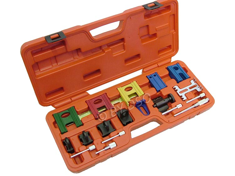 BERGEN Verwerk Professional 19 Piece Twin Camshaft Locking and Setting Tool Kit