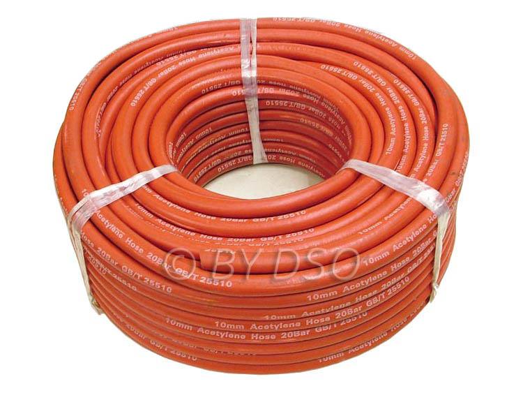 "BERGEN Professional 3/8"" Red Acetylene Welding Hose x 50m BER0576"