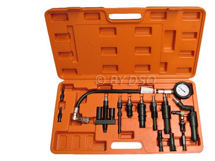 BERGEN Comprehensive Diesel Engine Compression Tester Kit