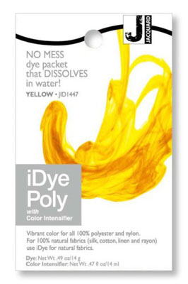 Jacquard iDye Fabric Dye Poly & Nylon 14g  - Yellow