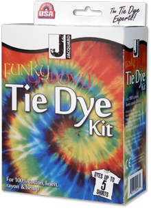 Jacquard - Funky Groovy Tie Dye Kit -  Dyes up to 5 Shirts