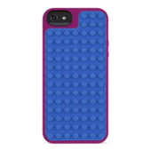 Funda LEGO� Builder para iPhone 5/5s- 	Violeta