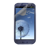 Protector de pantalla TrueClear antibrillo para Samsung Galaxy S III