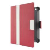 Gestreept Cinema Folio-etui met standaard  voor de nieuwe iPad en de iPad 2