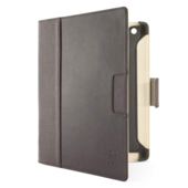 Leren Cinema Folio-etui met standaard  voor de nieuwe iPad en de iPad 2