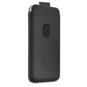 Insteek hoesje voor iPhone 5c - Asfaltzwart