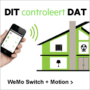 DIT controleert DAT / WeMo Switch + Motion >