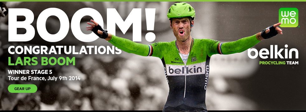 BOOM! CONGRATULATIONS LARS BOOM - WINNER STAGE 5 - Tour de France, July 9th 2014