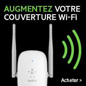 Augmentez votre couverture Wi-Fi - Amplificateur de signal Wi-Fi bi-bande