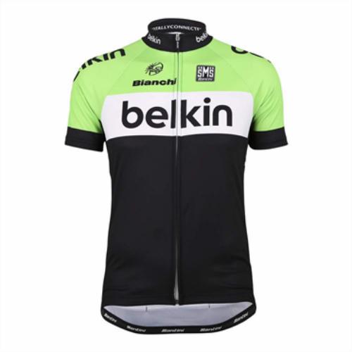 Team Belkin Jersey Official Replica Pro Cycling Gear by Santini, L