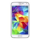 Vuil- en reflectiewerend TrueClear beschermfolie voor de Galaxy S5
