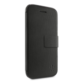 Custodia Wallet Folio con supporto per iPhone 5c - Nero asfalto