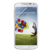 TrueClear transparante displaybeschermfolie voor Samsung Galaxy S4