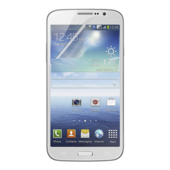 TrueClear transparant beschermfolie voor Galaxy Mega 5.8 ? 3 stuks