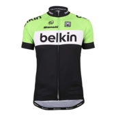 Offici�le replica van het Team Belkin-wielershirt (L)