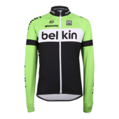 Team Belkin-wielershirt met lange mouwen (XL)