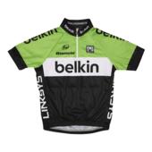 Team Belkin-wielershirt voor kinderen (5-6 jaar)