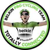Team Belkin-promotiesticker