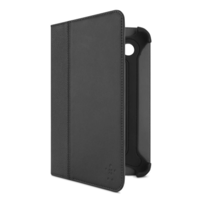 Leren Cinema Folio-etui met standaard voor de nieuwe Samsung Galaxy Tab 2 7.0