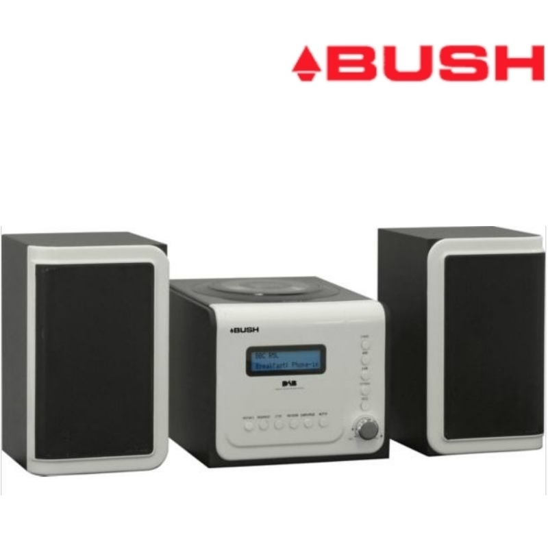 bush cmc22dab micro cd player system with dab fm radio lcd. Black Bedroom Furniture Sets. Home Design Ideas
