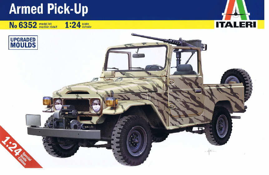 Italeri 1/24 Armed Pick Up # 6352