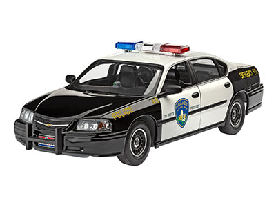 Revell 1/25 Chevy Impala Police Car - model kit # 07068
