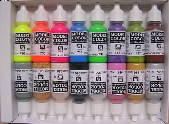 Vellejo Model Color Paint Set