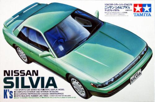 Tamiya 1//24 Nissan Silvia K/'s # 24078