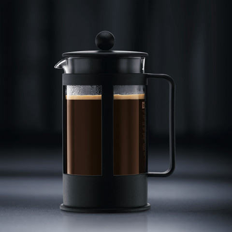 Bodum French Press Coffee Maker Instructions : Bodum Kenya French Press 8-CUP Coffee Maker Black / Caffettiera 178801 Black