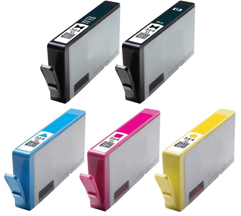 Hp 7520 ink slots