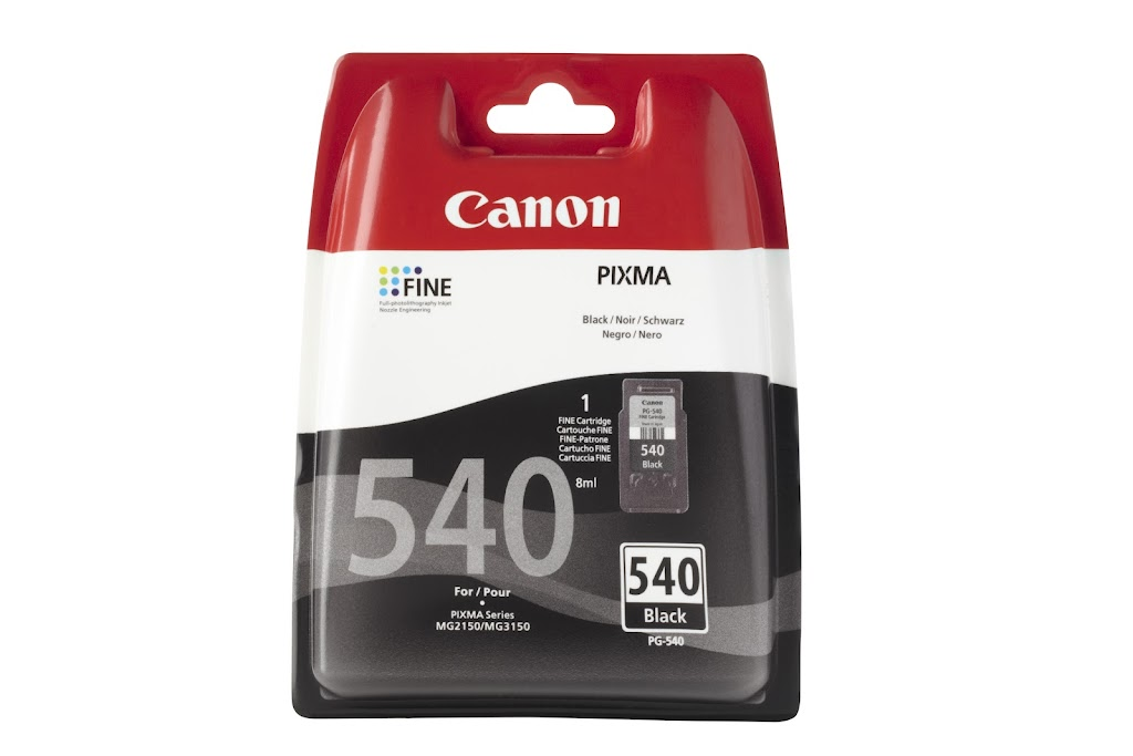 canon pg540 black printer ink cartridge for canon pixma mg3100 ebay. Black Bedroom Furniture Sets. Home Design Ideas
