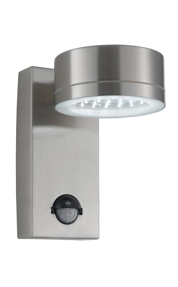 Modern outdoor motion sensor led wall light hp025178 ebay for Exterior wall light with motion sensor