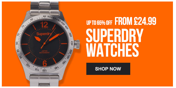 Superdry Watches From 24.99