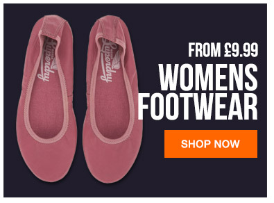 Womens Footwear From 9.99
