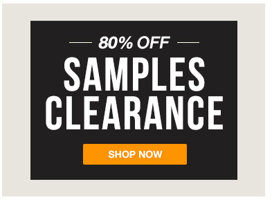 SAMPLES CLEARANCE