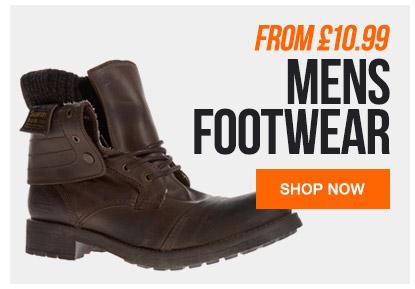 Mens Footwear From 10.99