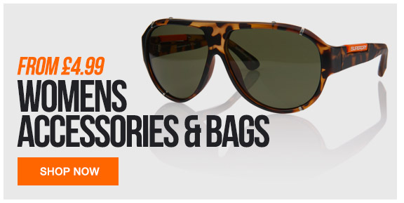 Womens Accessories and bags from 4.99
