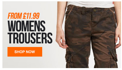 Womens Trousers from 11.99