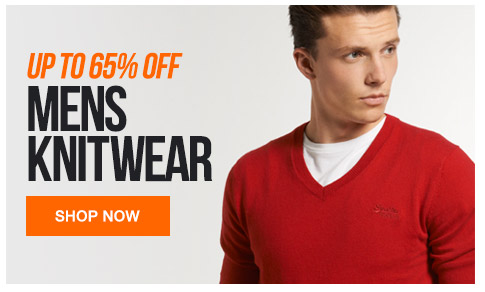 Mens Knitwear Up to 65% off