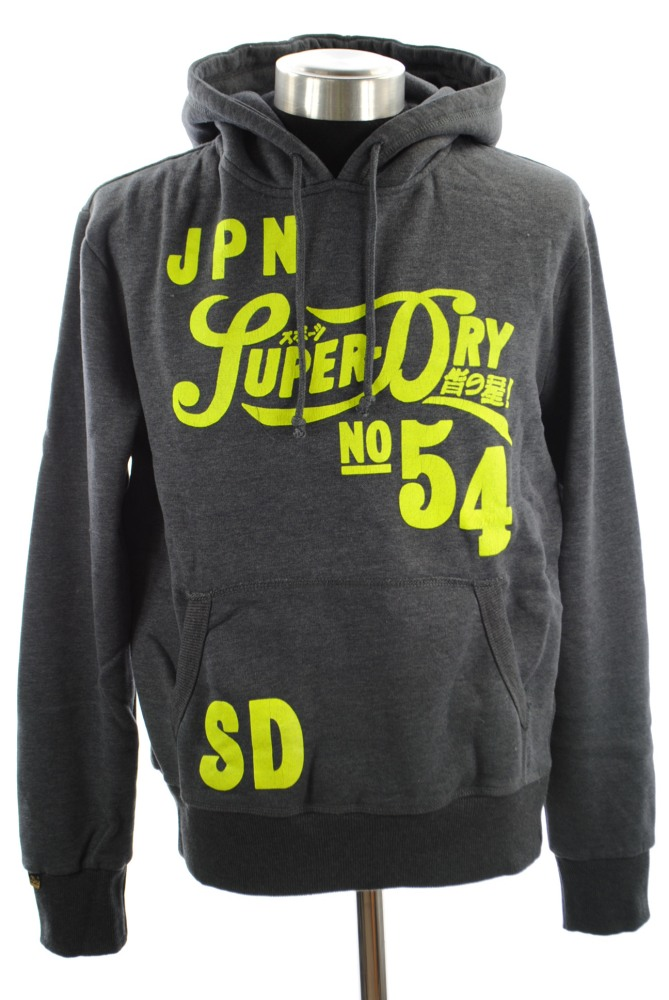 New-Mens-Superdry-Pipso-Reworked-Classics-Hoodie-Midnight-Marl-Blue