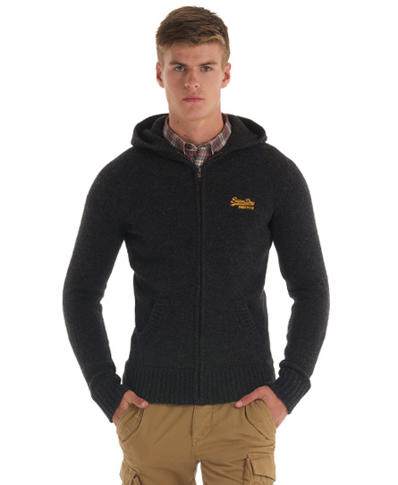 Knitted Hoodies Men